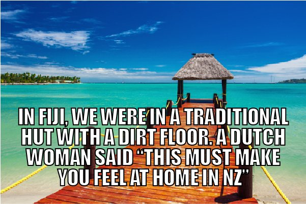 Artboard silly things people say about nz