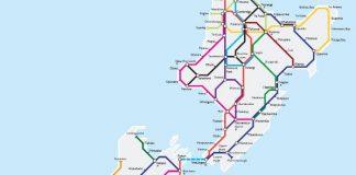 metro map nz