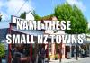 small nz towns
