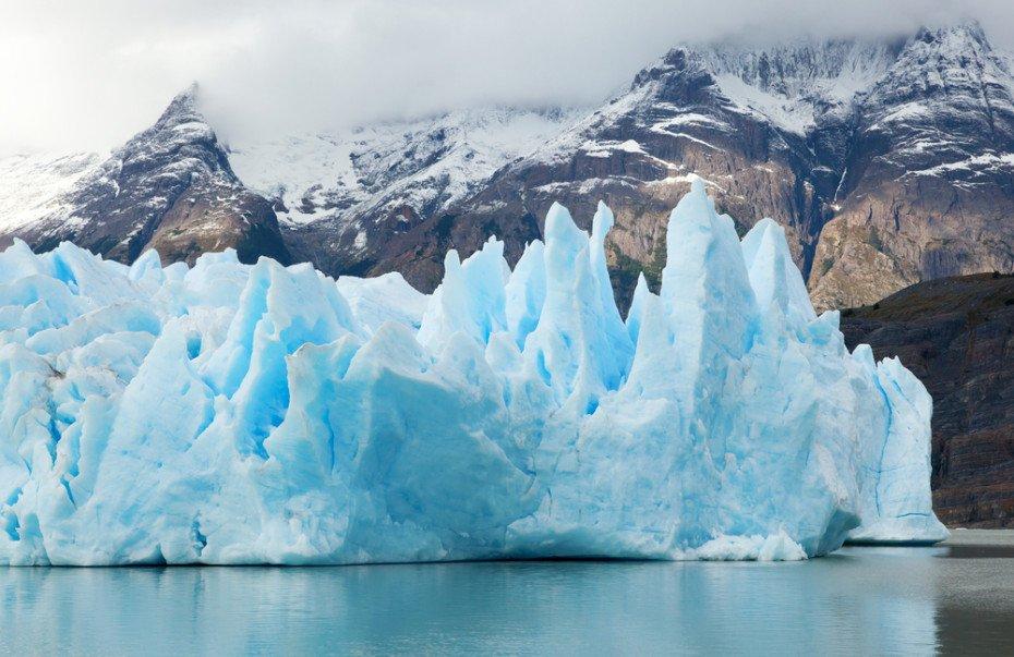 Grey Glacier in Torres