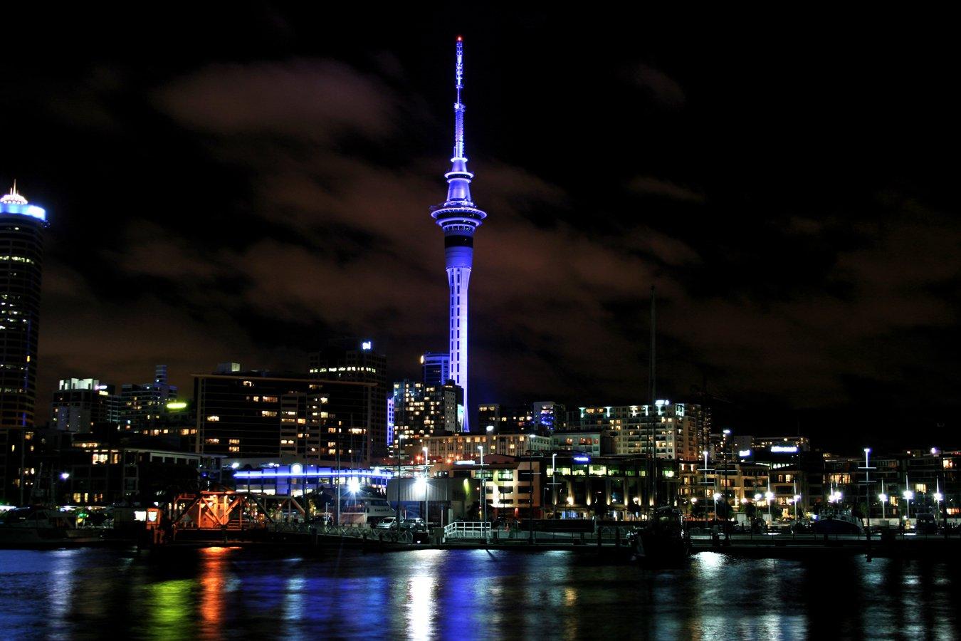 LightWorks SkyTower Auckland