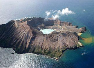Volcano White Island