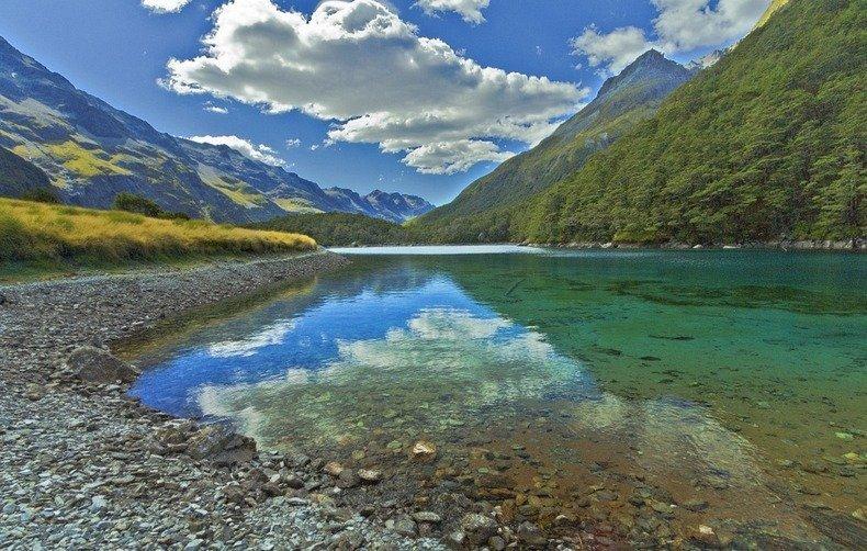 blue lake nelson