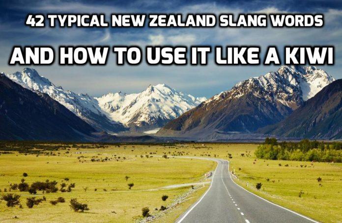 kiwi slang