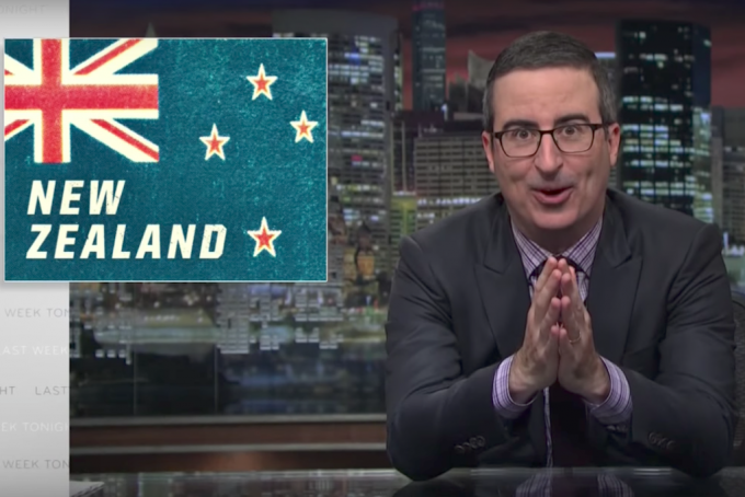 "John Oliver Roasts ""Eminem Esque' Court Case"