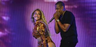 Beyonce and Jay Zs