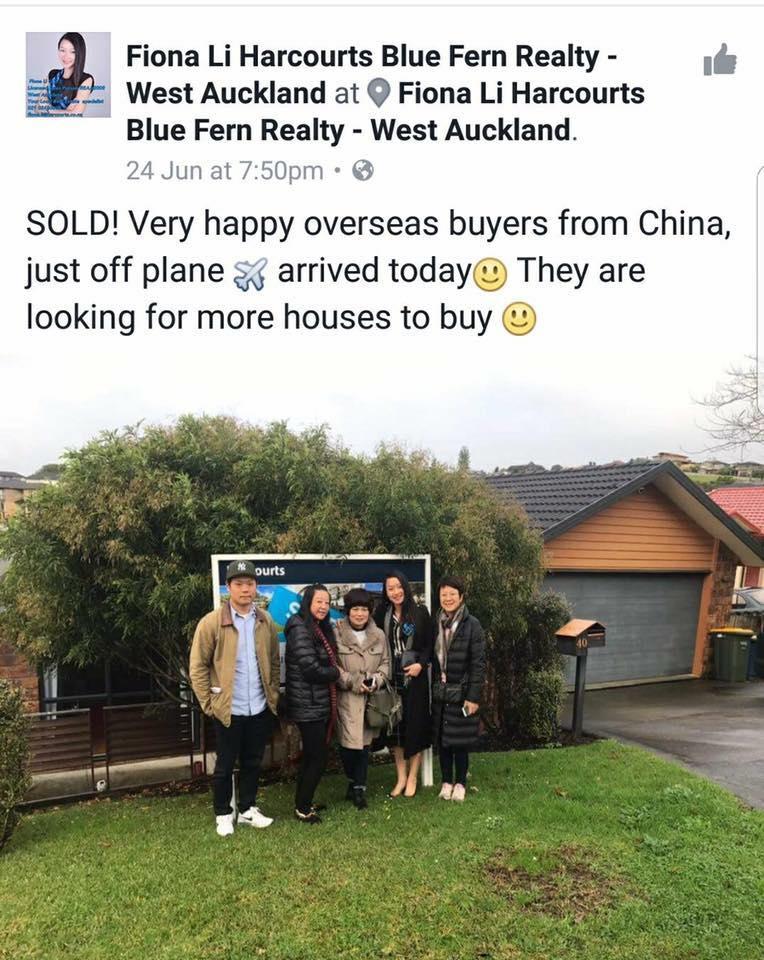 china buyers nz