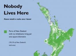no one lives here In new Zealand