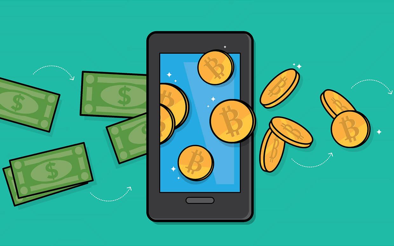 bitcoins phone