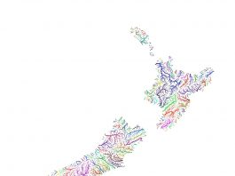 New Zealand Watersheds